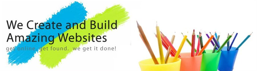 we create and build amazing websites